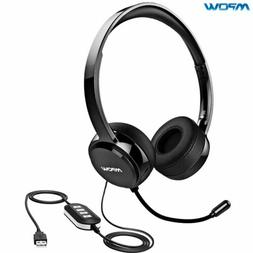 Mpow 071 USB Headset 3.5mm Computer Headset with Microphone