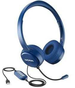 Mpow USB Headset/ 3.5mm Computer Headset with Microphone Noi