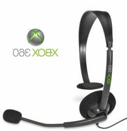 100% GENUINE MICROSOFT XBOX 360 OFFICIAL WIRED CHAT HEADSET