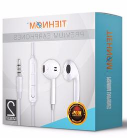 2-Pack Earbuds Headphones Headset Earphones with mic And Vol