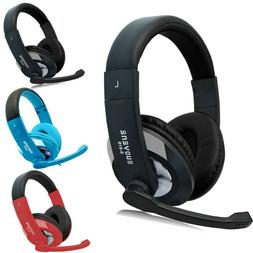 3.5mm Gaming Headset Wired Stereo Headphones With Mic  For P