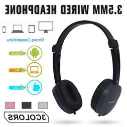3.5mm Stereo Gaming Headset Headband Headphone with Mic For