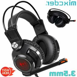 Mixcder 3.5mm Wired Gaming Headset Stereo Surround Headphone