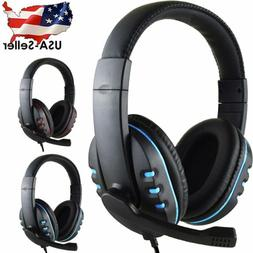 3.5mm Wired Surround Stereo Gaming Headset Headphone with Mi