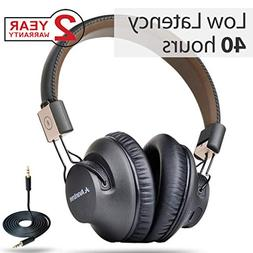 Avantree 40 hr Wireless Bluetooth 4.1 Over-the-Ear Foldable