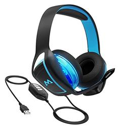 Mpow 7.1 Surround Sound Gaming Headset, PC, PS4 Headset, Dua