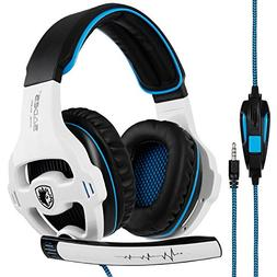 SADES 810 Gaming Headset 3.5mm PlayStation 4 Xbox one Gaming