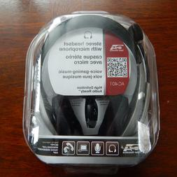 Cyber Acoustics Stereo Headset, headphonewith microphone, gr