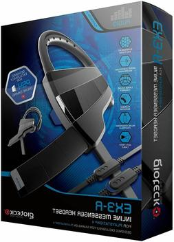 Gioteck EX3-R Inline Messenger Headset - PlayStation 4