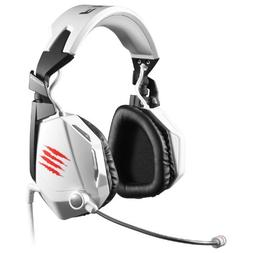 Mad Catz F.R.E.Q.5 Stereo Gaming Headset for PC and Mac, Whi