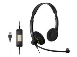 Sennheiser SC 60 USB ML  - Double-Sided Business Headset | F