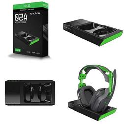 "ASTRO Gaming A50 Base Station For Xbox One & PC GREEN 8.5""/4"
