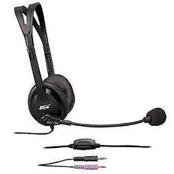 Cyber Acoustics AC-400MV 3.5mm Computer PC Headphones with B