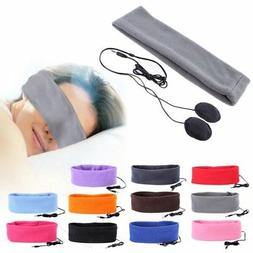 Anti-noise Sport Running Music Headband Headset Washable Sle