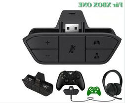 Audio Game Adapter Stereo Headset Headphone For Microsoft Xb