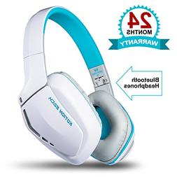 Bluetooth Headphones Over Ear, Hi-Fi Stereo Wireless Headset