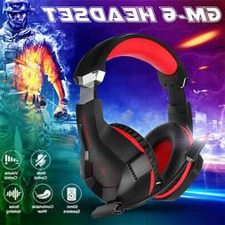 Beexcellent Gaming Headset Stereo LED 3.5mm Headphones For P