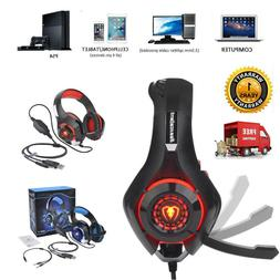 Beexcellent LED Light Deluxe Gaming Headset Headphone WithMi