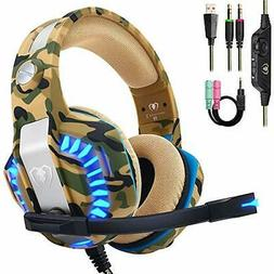 Beexcellent Pro Stereo Gaming Headset Xbox One PC All Cover