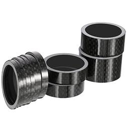 Sumind 11 Pieces Bike Carbon Fiber Headset Spacer Bicycle 1-