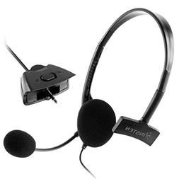 Everydaysource Black Headset Compatible With Microsoft Xbox