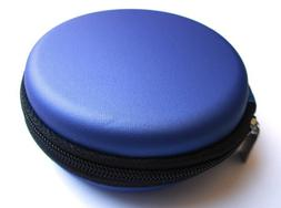 Blue Carrying Case for Sony Extra Bass MDR-XB60EX MDR-XB30EX