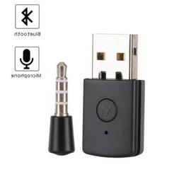 Bluetooth 4.0+EDR Dongle USB Adapter Wireless Receiver For PS4 Headset 5V O5F7X