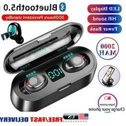 Mini TWS Earbuds Wireless Bluetooth 5.0 Headset Earphones St