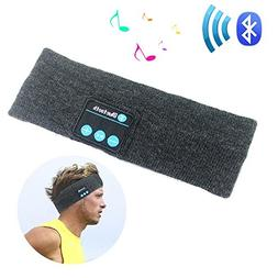 Rwesion Bluetooth Headband for Sleeping Sports Travel,Music