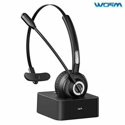Mpow Bluetooth Headphone Noise Cancelling Truck Driver Heads