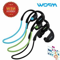 Mpow Bluetooth Headset Stereo Sports Wireless Earpiece Headp