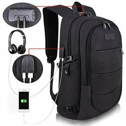 Tzowla Business Laptop Backpack Water Resistant Anti-Theft C