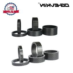Carbon Fiber Headset Spacers 5 10 15mm Washer Bike Bicycle H