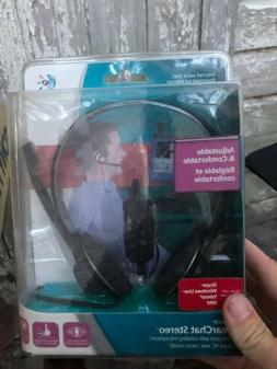 Logitech ClearChat Stereo PC Headset with Noise Canceling Mi
