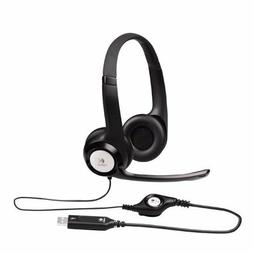 Logitech ClearChat USB Headset H390 Noise Cancelling Microph