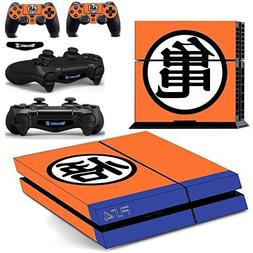 Ambur® dbz Protective Vinyl Skin Decal Cover for Sony PlayS
