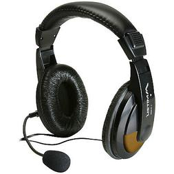 Deluxe Digital Multimedia Headset w/Mic and Volume Control