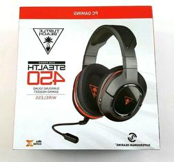 Turtle Beach Ear Force Stealth 450 DTS 7.1 Surround Sound Wi