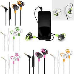 Earbuds In-ear 3.5mm Sport Headset Wired Earphone Noise Isol