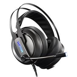 Mpow Gaming Headset for PC, Playstation 4, Virtual 7.1 Surro