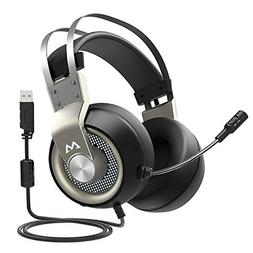 Mpow EG3 PC Gaming Headset, 7 1 Surroun