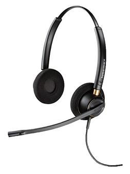 Plantronics EncorePro HW520 Headset - Stereo - Wired - Over-