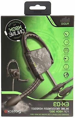 Gioteck EX03 Wired Gaming Headset for Xbox 360