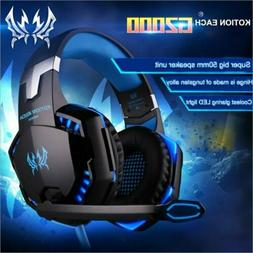 G2000 Stereo Bass Noise Cancelling Gaming Headset for PC Mac
