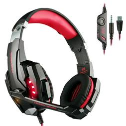 Each G9000 Gaming Headsets Headphones for PS4 Xbox One Contr
