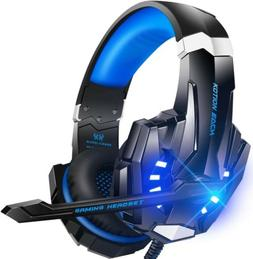 Bengoo G9000 Gaming Headset for PS4 PC Xbox One Noise Cancel