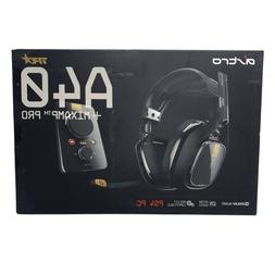 Astro Gaming A40TR with MixAmp Pro TR - Black - PS4+PC - Wir