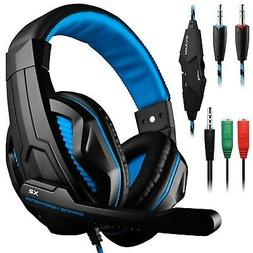 Gaming Headset,DLAND 3.5mm Wired Bass Stereo Noise Isolation