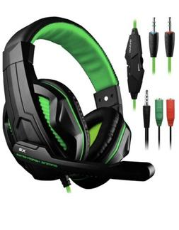DLAND Gaming Headset 3.5mm Wired Noise Isolating for PC