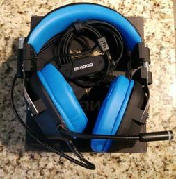 BENGOO Gaming Headset 3 for PS4, PC, Xbox One Controller,Lap